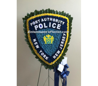 Port Authority Police Badge in Jersey City NJ, Entenmann's Florist