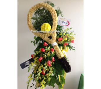 Tennis Racquet in Jersey City NJ, Entenmann's Florist