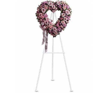 Pink Tone Heart in Bellevue WA, CITY FLOWERS, INC.