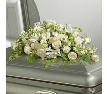 Everlasting Love Casket Cover in Bellevue WA, CITY FLOWERS, INC.