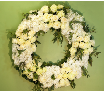 Grace Wreath  in Merrick NY, Feldis Florists