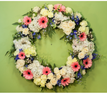 Love and Hugs Wreath  in Merrick NY, Feldis Florists