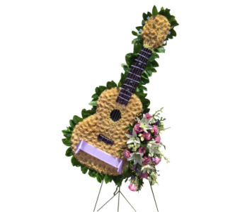 Guitar in Somerset NJ, Flower Station
