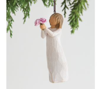 Thank You Willow Tree Ornament in Nashville TN, The Bellevue Florist