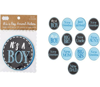IT�S A BOY STICKER SET in Oklahoma City OK, Trochta's