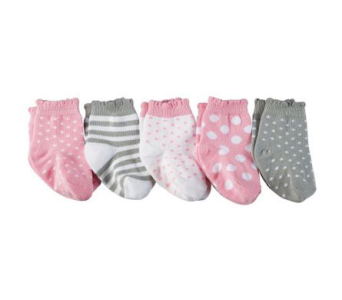 Baby Girl Sock Set in Oklahoma City OK, Trochta's