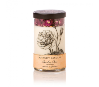 Botanist Candle - Bourbon Rose in Lakewood CO, Petals Floral & Gifts