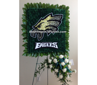 Philadelphia Eagles Emblem in Jersey City NJ, Entenmann's Florist