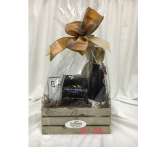 Wine Gift Basket in Washington MO, Hillermann Nursery & Florist