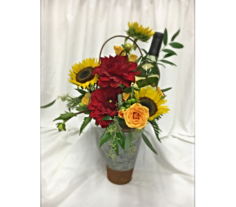 Wine and Flowers in Washington MO, Hillermann Nursery & Florist