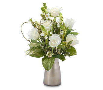 Champagne Sparkle in Mount Morris MI, June's Floral Company & Fruit Bouquets