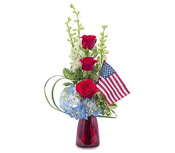 Patriot in Tyler TX, Flowers by LouAnn