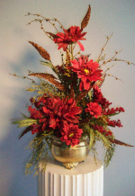 Vibrant Autumn Silk in Huntington WV, Archer's Flowers and Gallery