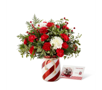 The FTD� Holiday Wishes� Bouquet by Better Homes & in Des Moines IA, Doherty's Flowers