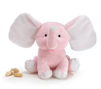 Pink Cuddly Buddy Elephant in Fort Myers FL, Ft. Myers Express Floral & Gifts