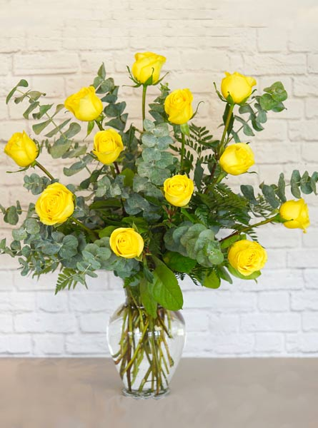 One Dozen Premium Yellow Roses in Scranton PA, Remick Floral & Gift
