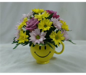 Happy and Bright in Belleville ON, Barber's Flowers Ltd