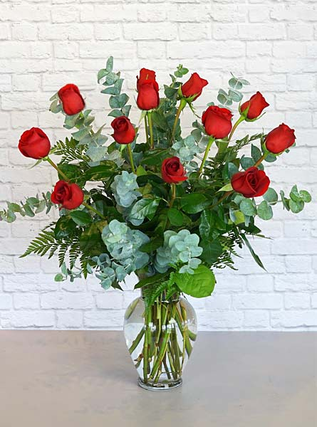 One Dozen Premium Red Roses in Clarks Summit PA, McCarthy-White's Flowers