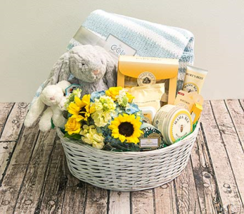 Deluxe Baby and Mom Basket in Houston TX, The Empty Vase of Houston