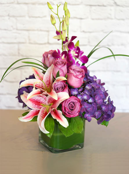 Purples in Paris in Clarks Summit PA, McCarthy-White's Flowers