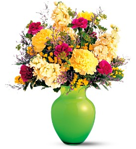 Teleflora's Breath of Spring Bouquet in Boca Raton FL, Boca Raton Florist