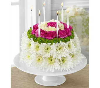 The Wonderful Wishes� Floral Cake by FTD� in Salisbury MD, Kitty's Flowers