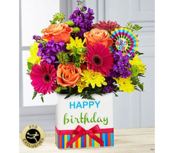 The FTD� Birthday Brights� Bouquet  in Salisbury MD, Kitty's Flowers