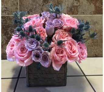 Pastels for Barbara by Abbey's Flower Garden in Woodland Hills CA, Abbey's Flower Garden