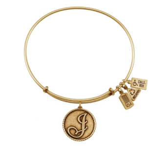Love Letter 'J' Charm Bangle in Eustis FL, Terri's Eustis Flower Shop