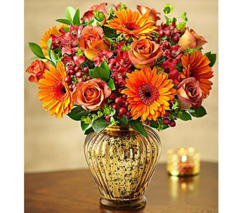 In Love With Fall Bouquet in Watertown CT, Agnew Florist