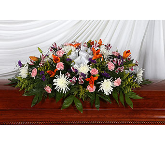 Casket Spray Seasonal in Southampton PA, Domenic Graziano Flowers