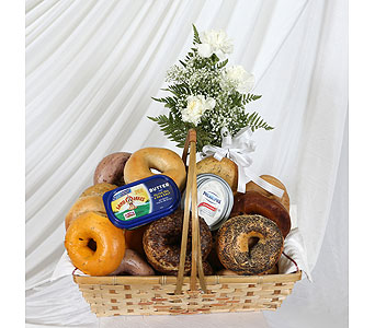 3 Dozen Bagel Basket in Southampton PA, Domenic Graziano Flowers