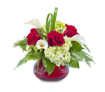 Chic Winter Romance in Glen Rock NJ, Perry's Florist
