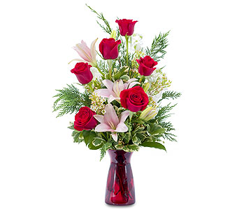 Winter Caress in Spartanburg SC, A-Arrangement Florist