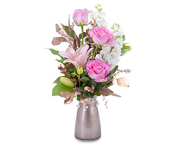 Vintage Pink in Brockton MA, Holmes-McDuffy Florists, Inc 508-586-2000