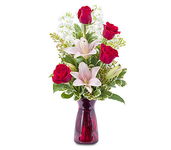 Tender Love in Mount Morris MI, June's Floral Company & Fruit Bouquets