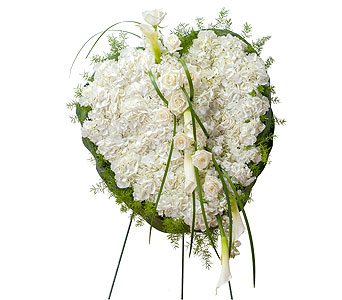 Elegant Love Heart in Spartanburg SC, A-Arrangement Florist