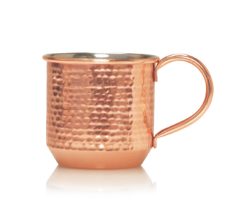 Simmered Cider, Copper Mug Candle  in Detroit and St. Clair Shores MI, Conner Park Florist