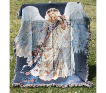 Angel Afghan in New Albany IN, Nance Floral Shoppe, Inc.