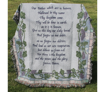 The Lord's Prayer Afghan in New Albany IN, Nance Floral Shoppe, Inc.