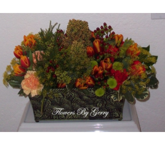 Bountiful Harvest in Brentwood CA, Flowers By Gerry
