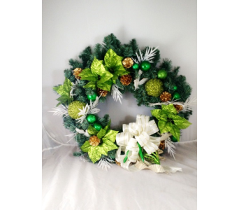 Green w/Dove-LG in Naples FL, Naples Flowers, Inc.