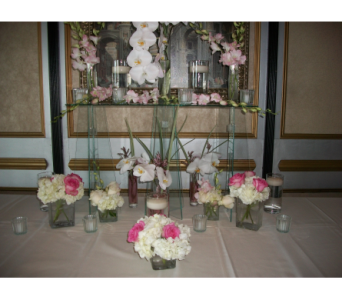 escort table 2 in Canonsburg PA, Malone Flower Shop