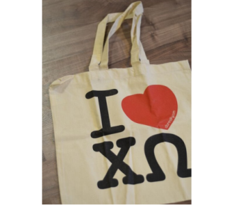 Chi Omega Tote in Ft. Collins CO, Palmer Flowers