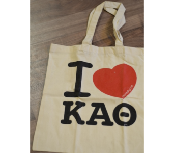 Kappa Alpha Theta Tote  in Ft. Collins CO, Palmer Flowers