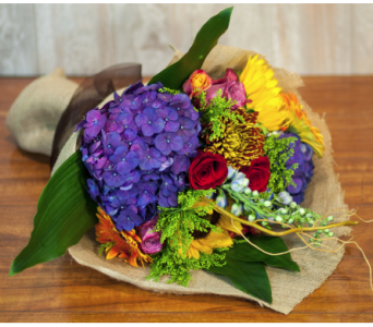Premium Hand Tied Seasonal Bouquet in Merrick NY, Feldis Florists
