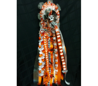Homecoming Double Mum in Rockwall TX, Lakeside Florist