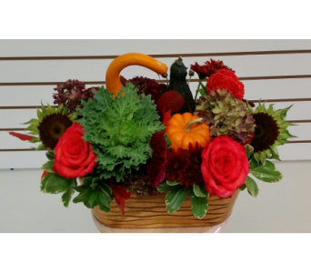 Thanksgiving Centerpiece in Brampton ON, Flower Delight