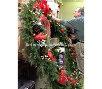 Ed Action Shot in Jersey City NJ, Entenmann's Florist