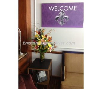 MetLife Suite - Saints in Jersey City NJ, Entenmann's Florist